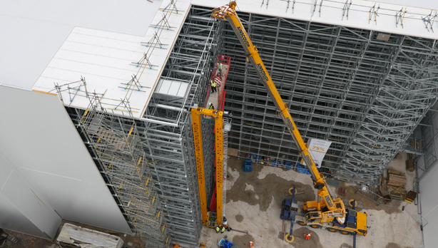 Storage warehouse construction
