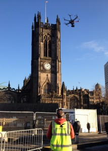 Manchester aerial building inspection