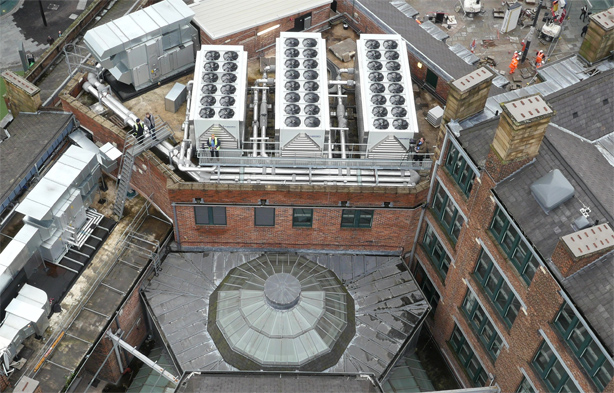 Drone Roof Survey, Manchester