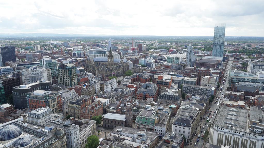 Property development aerial drone photos