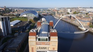 The Baltic, Sage and Millennium Bridge