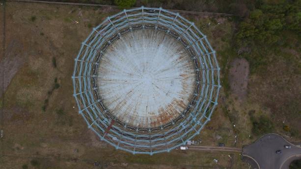 Gasometer drone survey