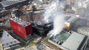 Home Manchester opening drone photography