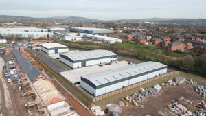 Industrial Business Park Aerial Photos