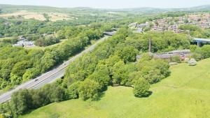 Aerial development photographs