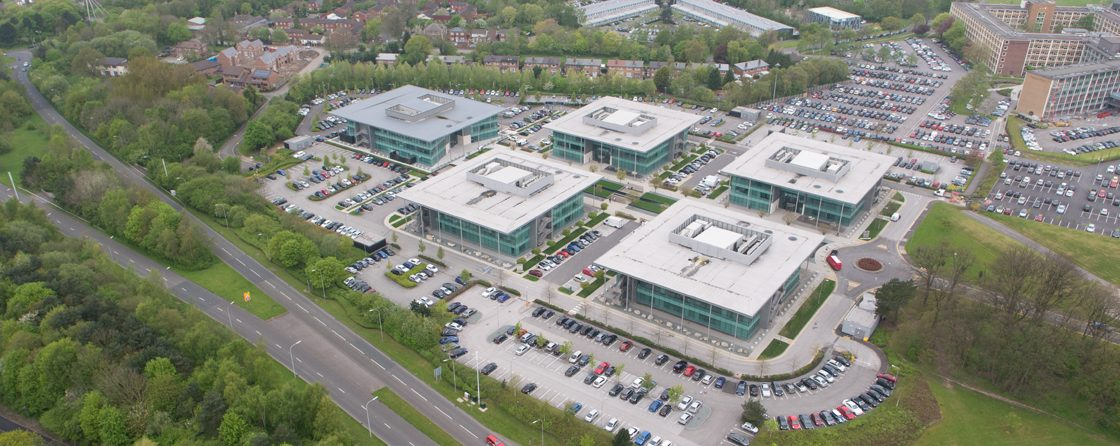 Birchwood Commercial property aerial photography