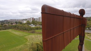 Angel of The North for the BBC