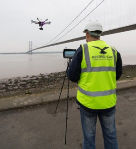 Humber Bridge drone video