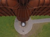 Angel of the North Aerial Photo