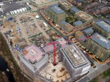 London Building Site Aerial Drone Photo