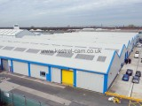 Industrial Estate Aerial Photo