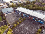 Retail Park Aerial Drone Photo