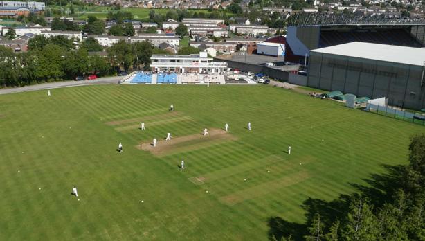 Lancashire League cricket match for BBC Sport