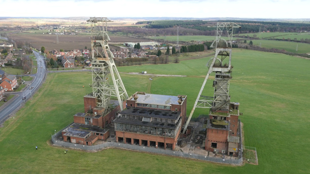 Clipstone Colliery Headstocks Survey
