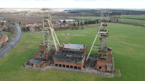 Clipstone Colliery Headstocks Survey