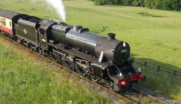 Steam Train on North Yorks Moors Railway