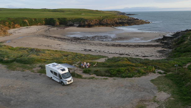TV Advert Filming in North Wales