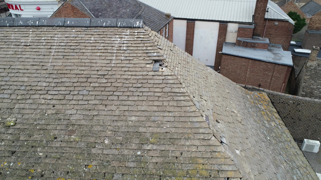 Bank Roof Survey